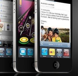 iphone 4 driemaal