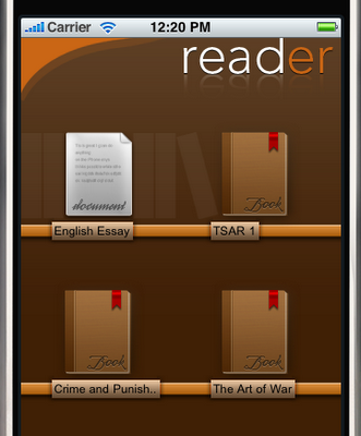 ebook reader iphone