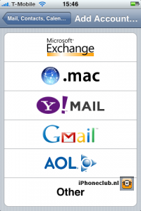 Exchange e-mail