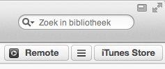 Remote koppelen in iTunes