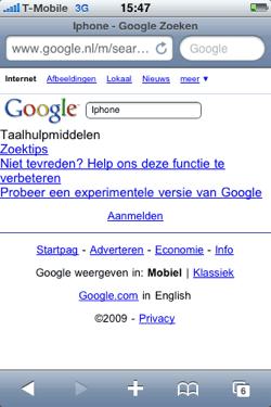 google zoekvak