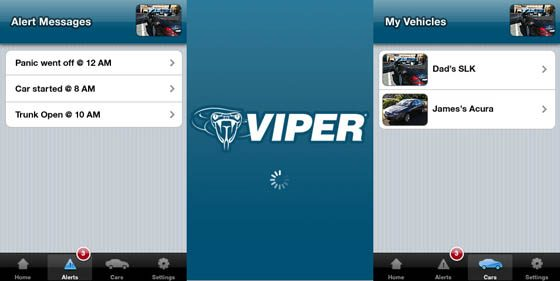 viper smartstart iphone