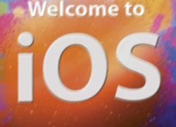 welcome to ios