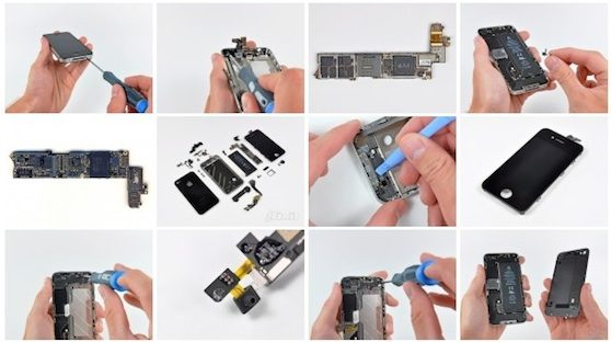 Instructions on How to open iPhone 4