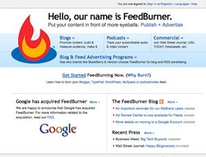 website-feedburner