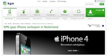 kpn iphone