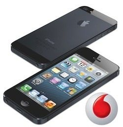 vodafone iphone 5