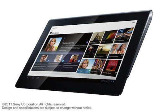 Sony S1 tablet concurrent voor iPad