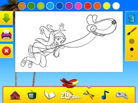 app kinderzender z ppelin voor de uitgebracht