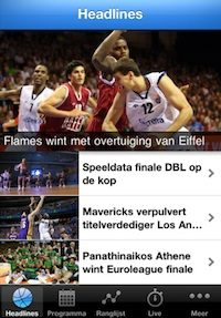 basketball headlines iphone