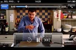 Dagelijkse Kost voor de iPhone iPod touch header