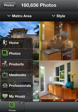 houzz iphone