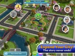The Sims Freeplay iPad header