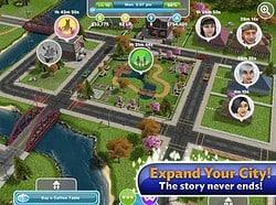 The Sims Freeplay iPad header