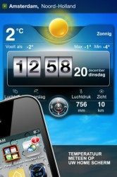 Live Weer iPhone iPod touch screenshot