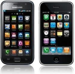 iPhone 3G & Samsung Galaxy