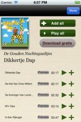 Dikkertje Dap in De Muziekfabriek iPhone