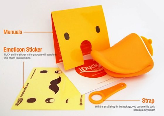 iDuck stickers
