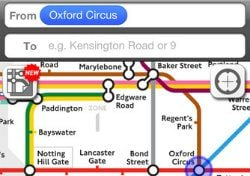Londen 2012 Apps Journey Pro planner