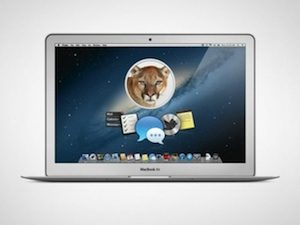 mountain lion laptop