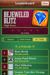 Bejeweled Game Center