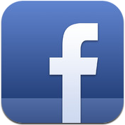 Facebook 5.0 nieuw icoon iPhone iPod touch