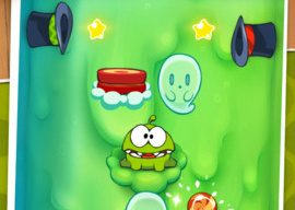 Cut the Rope Halloween-thema iPhone