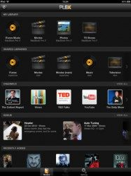 Plex iPad-screenshot