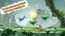 Beste iPhone-games 2012 Rayman Jungle Run