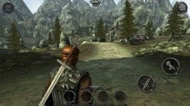 Beste iPhone-games Ravensword Shadowlands