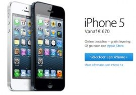 iPhone 5-prijzen