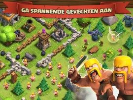 Clash of Clans header iPhone iPad