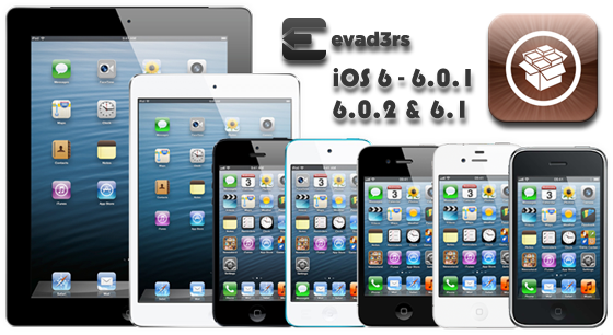Jailbreak iPhone, iPod touch, iPad en Apple TV op iOS 6