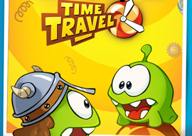 Cut the Rope Time Travel iPhone iPad