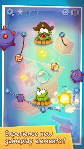 Cut the Rope piratentijd Time Travel