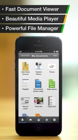 Documents by Readdle iPhone
