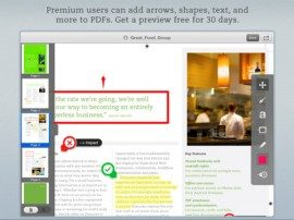 Evernote Skitch PDF-documenten