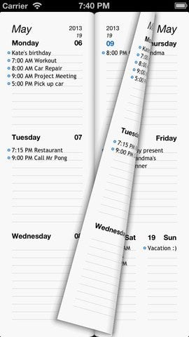 Week Agenda Ultimate iPhone iPad weekagenda