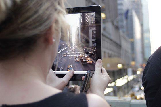 ipad-vrouw-new-york