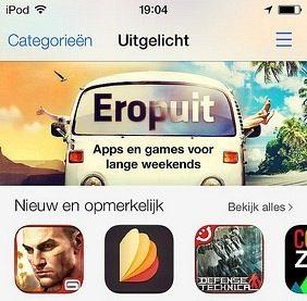 app store ipod