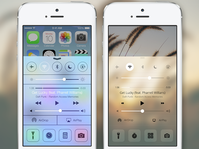 iOS7 Alternatieve designs Clement Ng