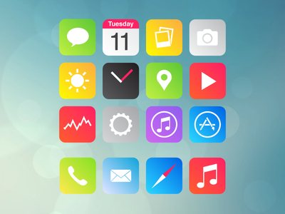 iOS7 Alternatieve designs Lewis Jones