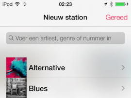 iTunes Radio Nederlands screenshot