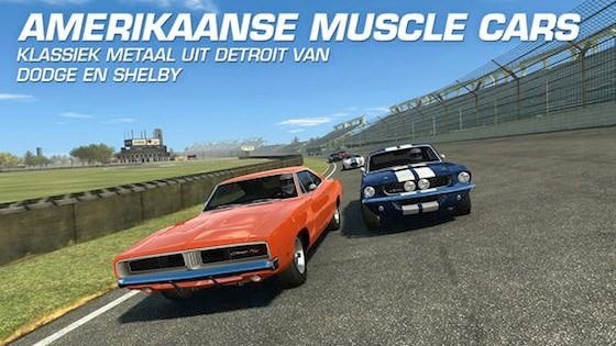 Muscle Cars Real Racing 3