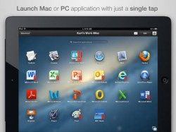 Parallels Access iPad remote desktop app