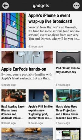 iOS 7 Apps Newsify iPhone