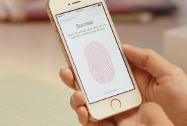 iPhone 5s Touch ID succes