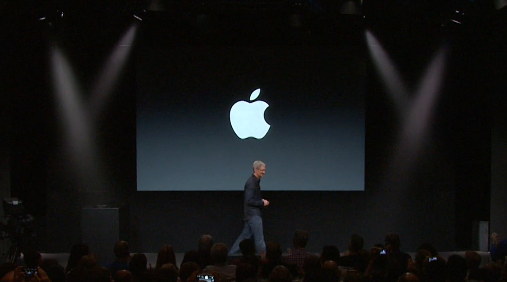 Tim Cook keynote 2013