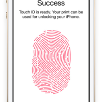Touch ID op de iPhone 5s