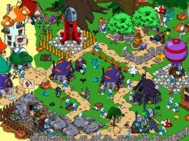 ICS Smurf's Village Halloween update